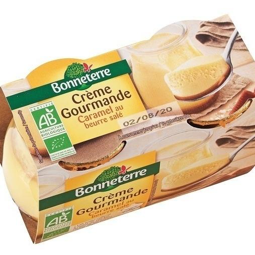 Crème gourmande Caramel au beurre salé